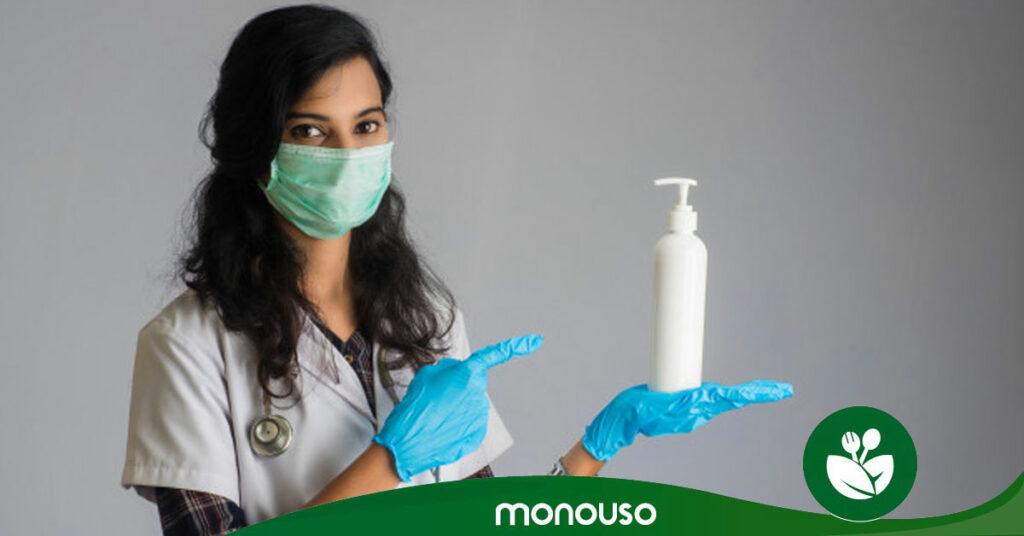 Elegir un gel desinfectante efectivo contra el coronavirus