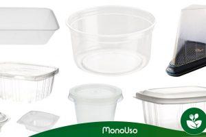 Tipos de envases de plástico para alimentos