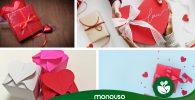 Envolturas de regalos originales para San Valentín