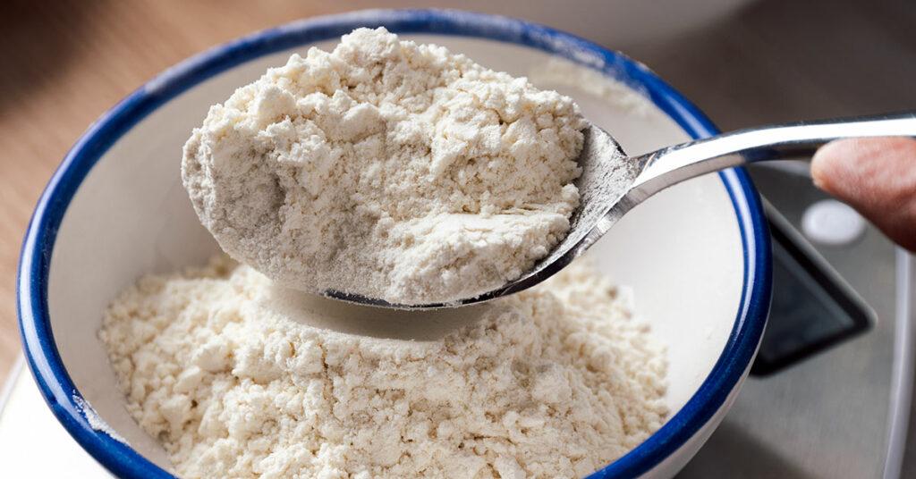 Errores en pastelería al servir la harina