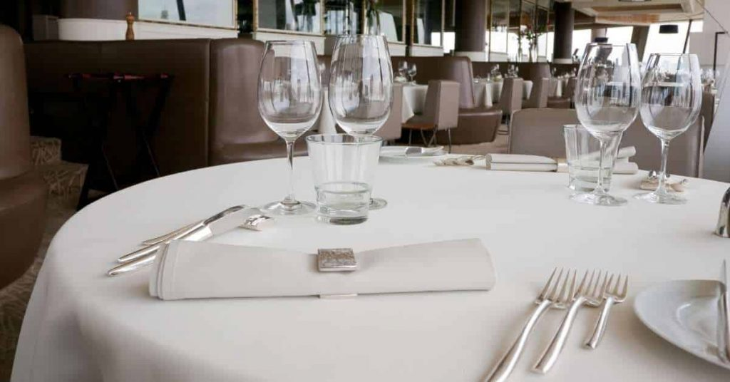 Estilos de mesas de restaurantes