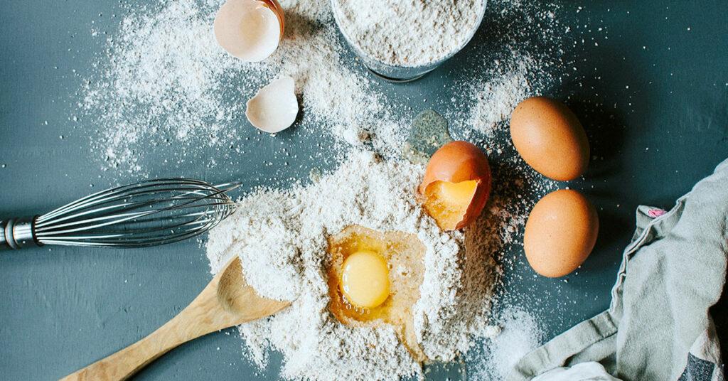 Falta de atención al mezclar ingredientes