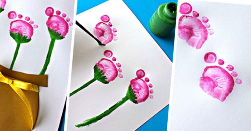 Flores de patitas