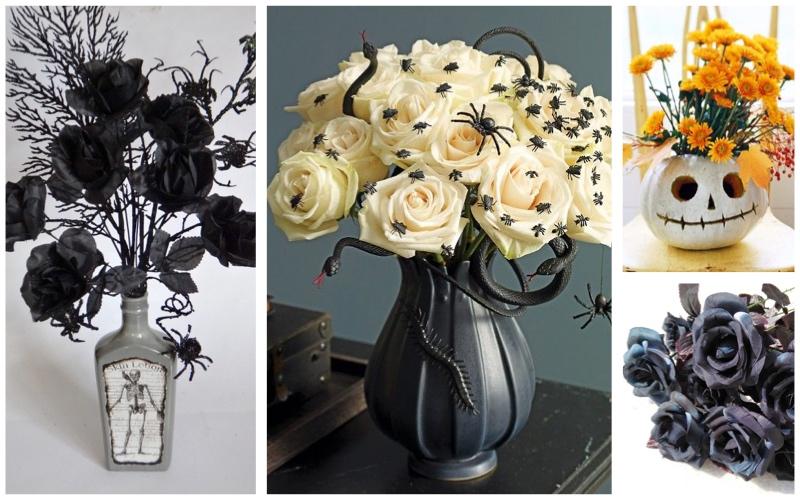 Flores en el centro de tu celebración