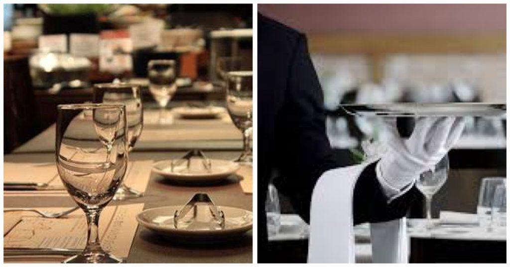 Formas de servir una mesa siguiendo el protocolo