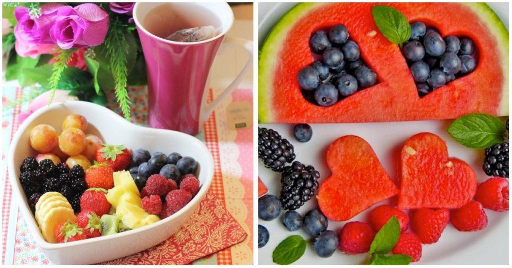Frutas picadas