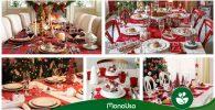 Guía 2019: Cómo decorar una mesa de Navidad
