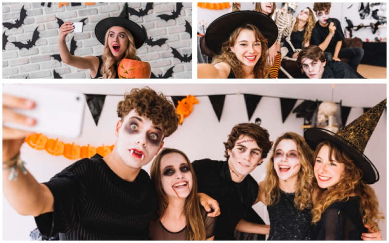 Halloween redes sociales
