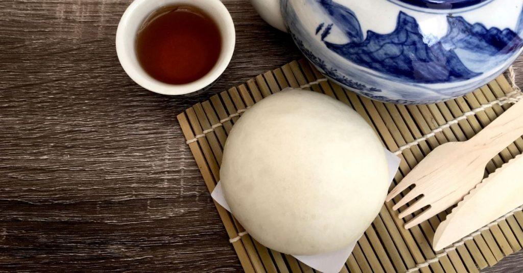 Ingredientes para hacer Pan Bao sin Vaporera