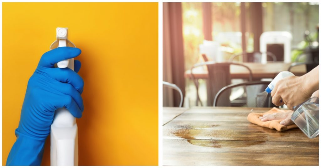 Limpieza y desinfección: conceptos y diferencias