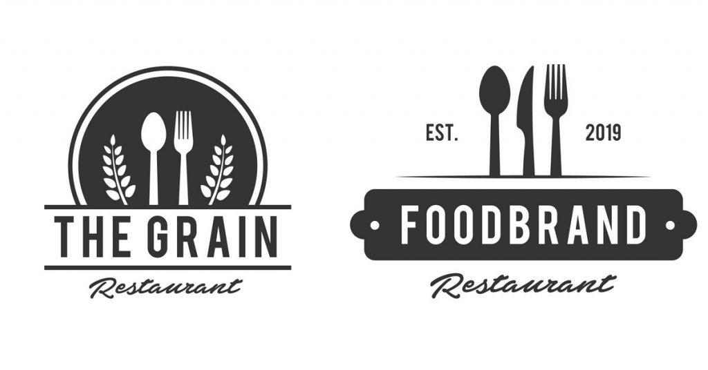 Logo de restaurante para despertar las musas