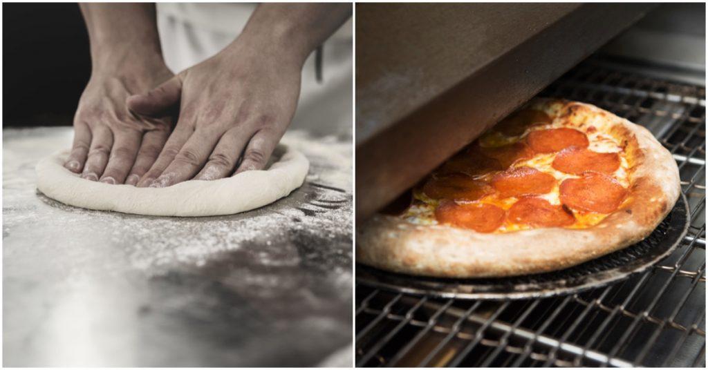 Maquinaria de cocina necesaria para una pizzería