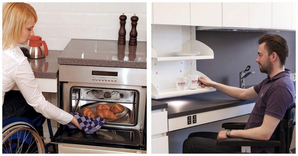Medidas, aspecto más importante en las cocinas adaptadas