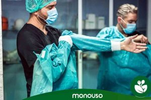 Mejores batas quirúrgicas desechables baratas