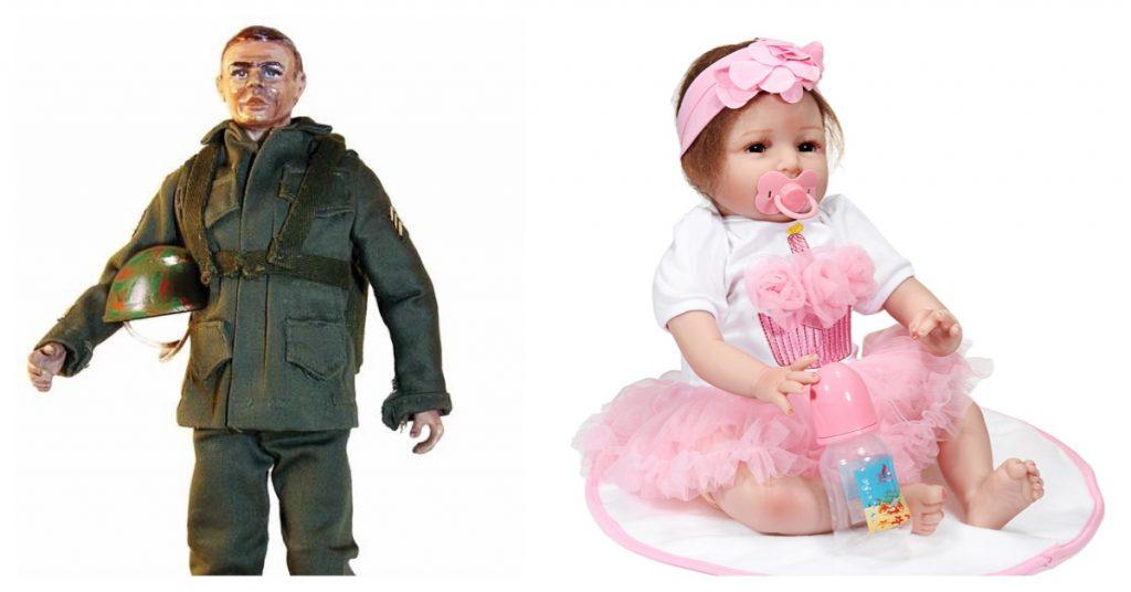 Muñecas y figuras de acción