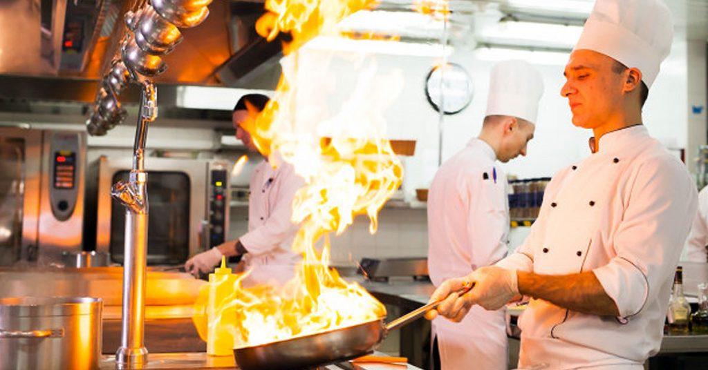 Otras dependencias en una cocina restaurante