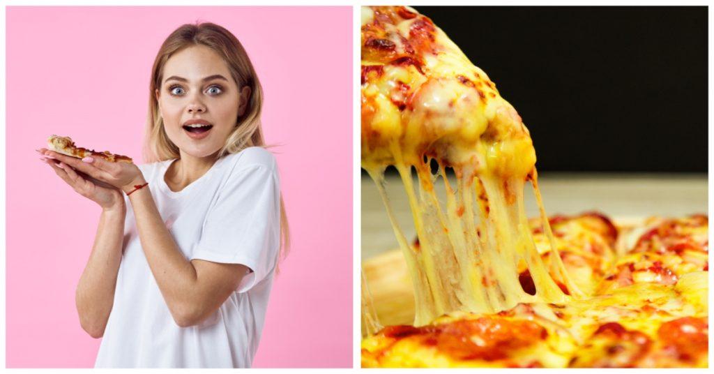 Pizza casera, la que menos engorda