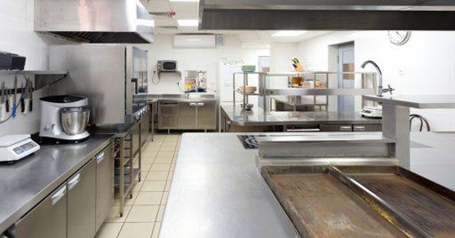 Precio de una cocina industrial de nivel medio