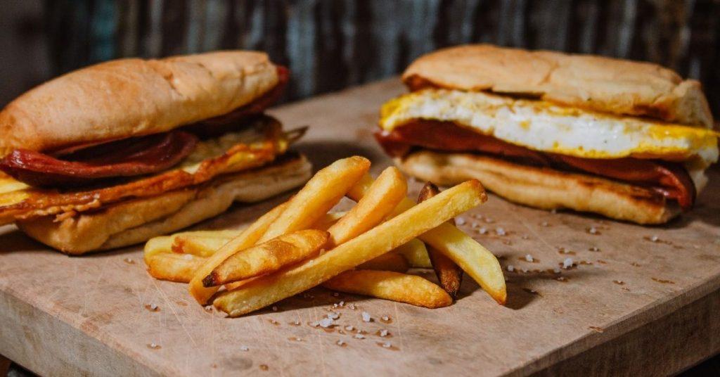 Preocupación de la hamburguesa por la evolución del negocio