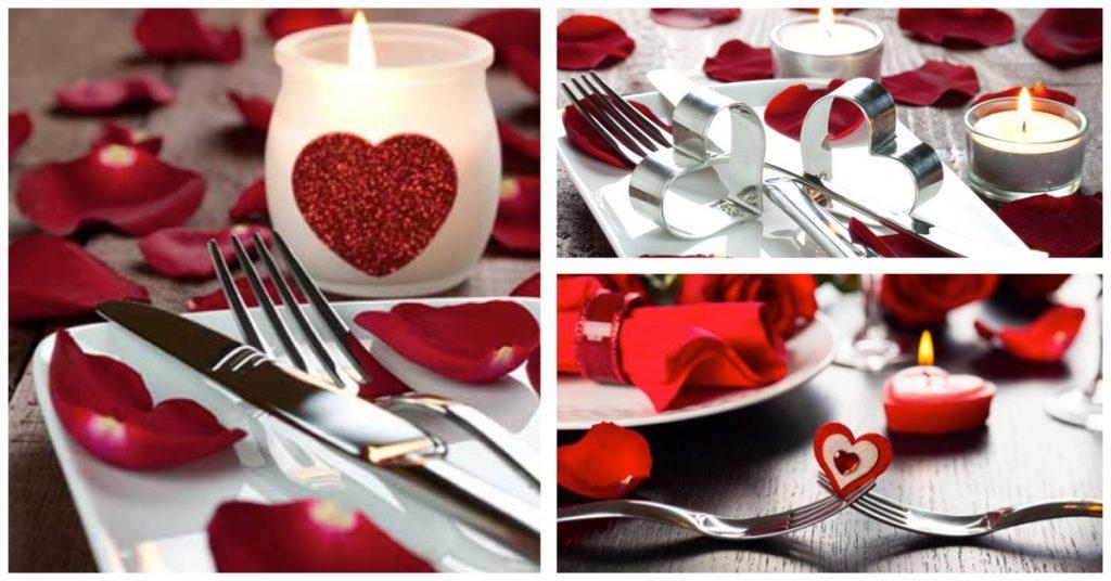 Preparativos para tu restaurante en San Valentín