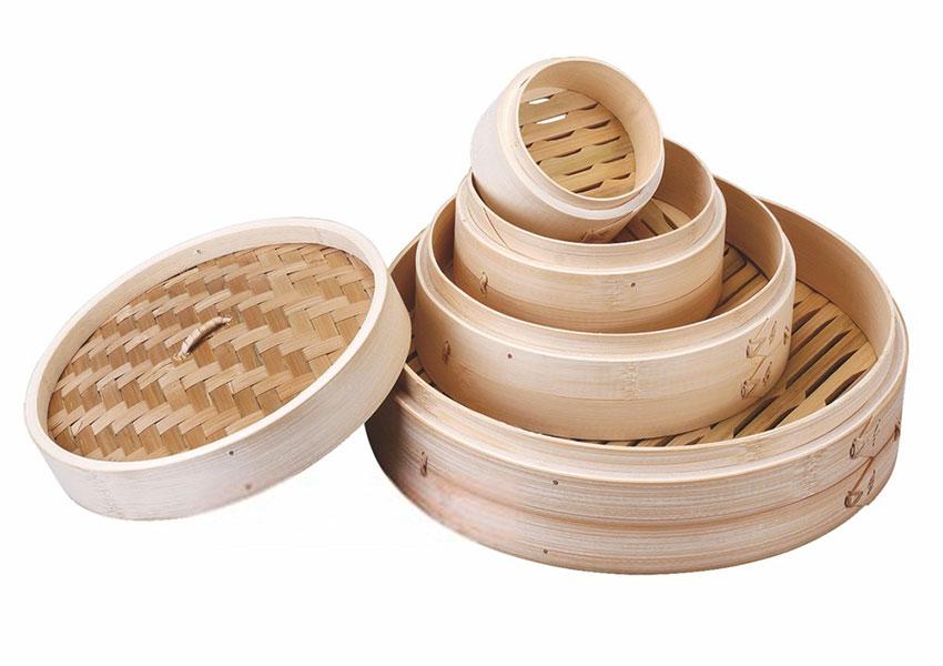 Qué es una vaporera de bambú