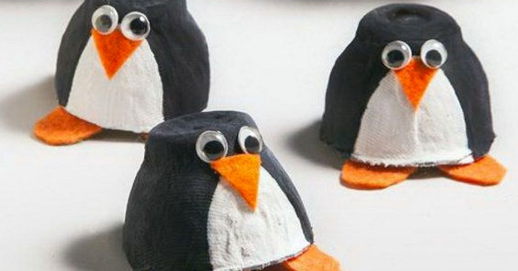 Reciclaje infantil: Pájaro de huevera