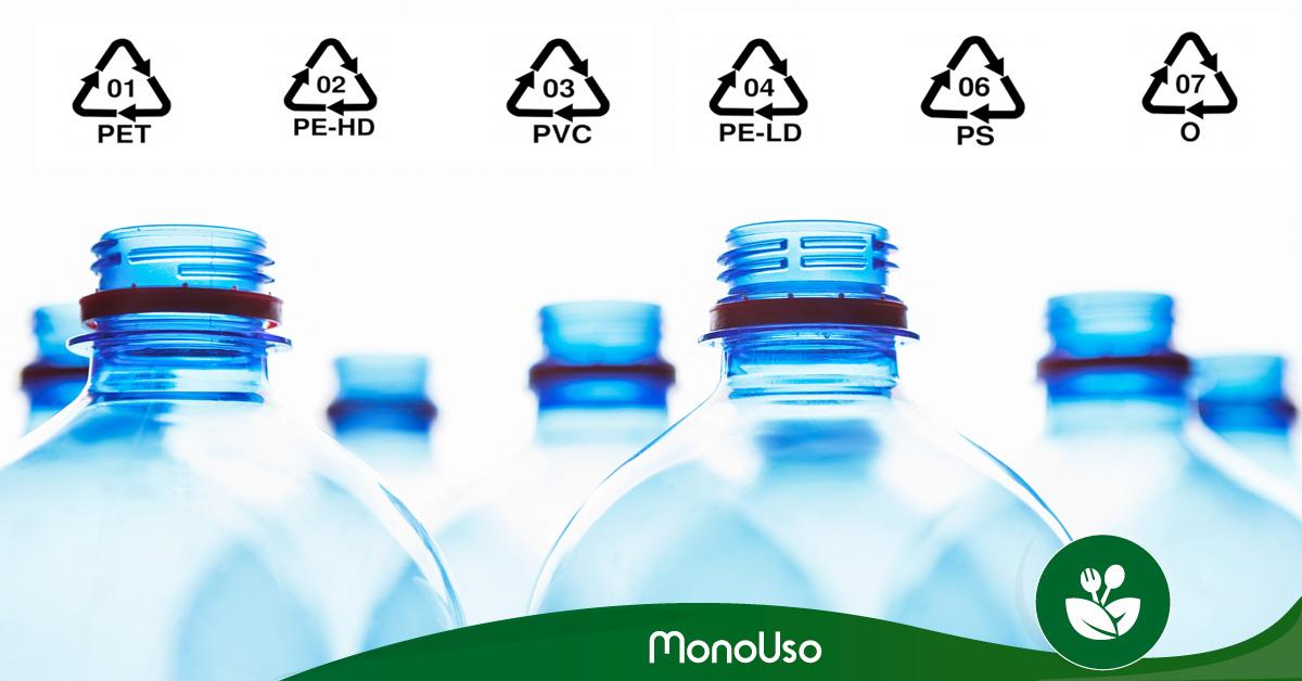Tipos de plástico y cómo reciclarlos