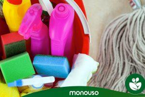 Tipos de productos químicos de limpieza. ¡Cuidado con ellos!