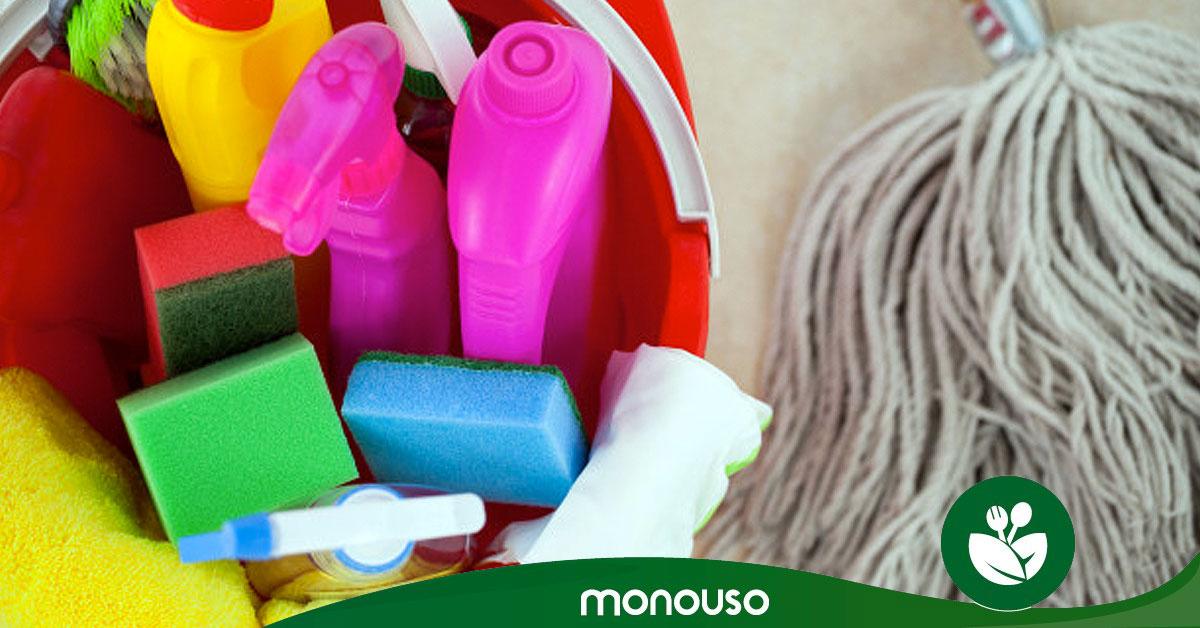 Tipos de productos químicos de limpieza ¡Cuidado con ellos!