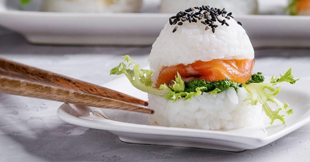 Tipos de sushi fusionados: Sushi burger