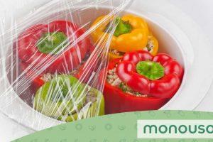 Tips para envolver alimentos con film transparente