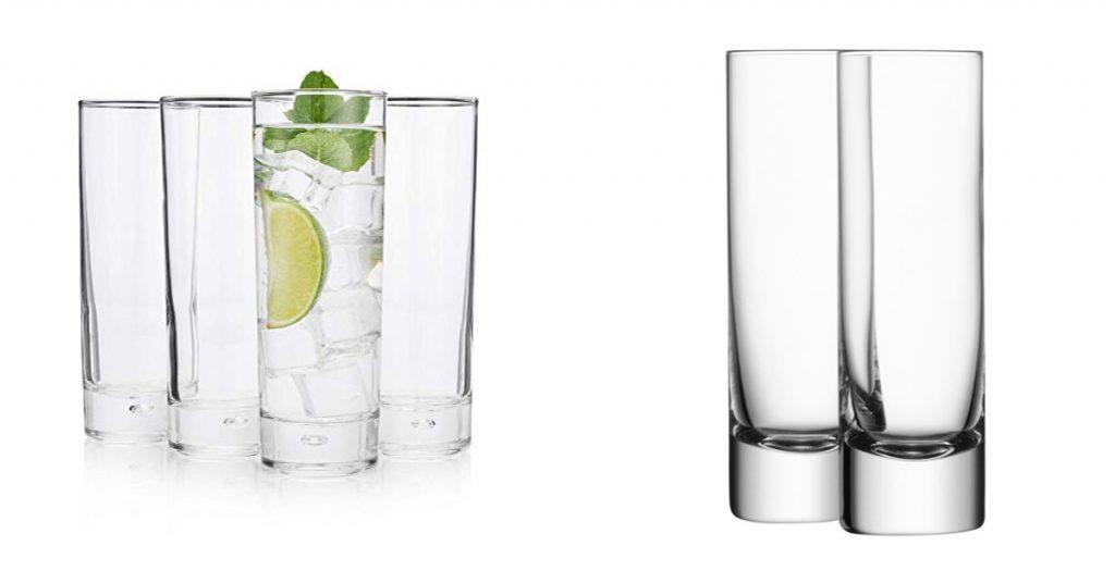 Vasos, utensilios de coctelería