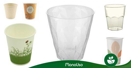 Vasos compostables - Reduce tu huella