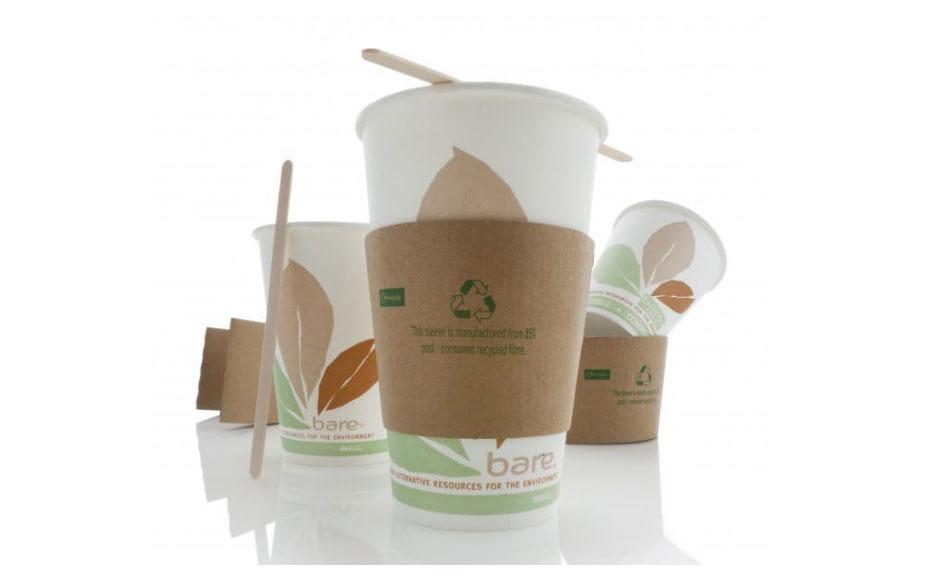 Vasos de cartón ecológico