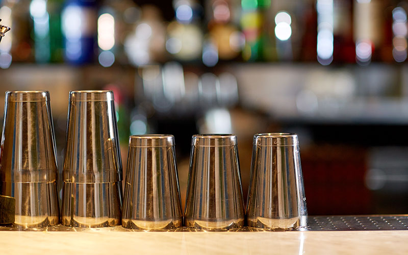 Vasos de inox
