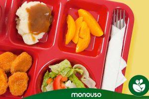 Ventajas de las bandejas autoservicio para comedores escolares