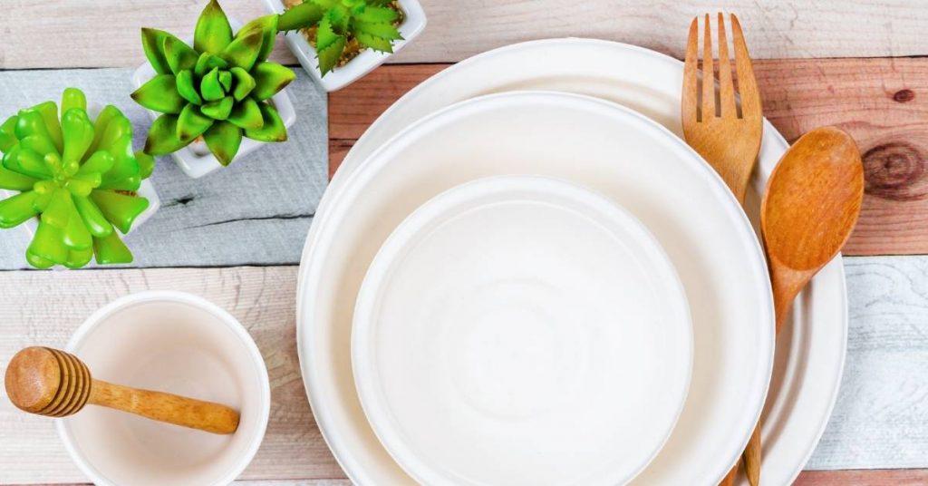 Ventajas de usar platos de caña de azúcar