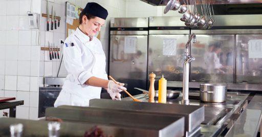 Zonas presentes en una cocina restaurante