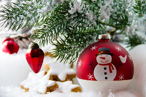 Adornos navideños palitos brochetas