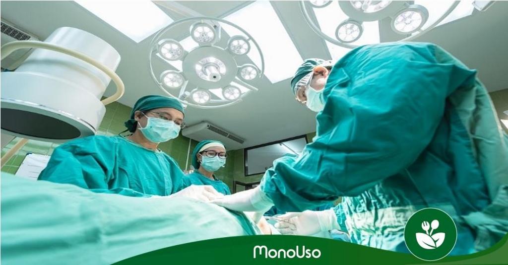 batas desechables cirujano