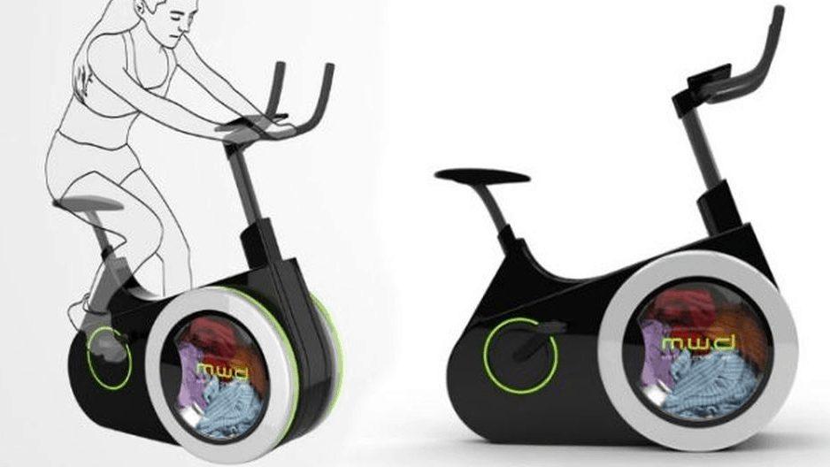 bicicleta lavadora ecologica