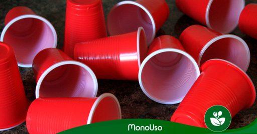 cómo decorar vasos de plástico