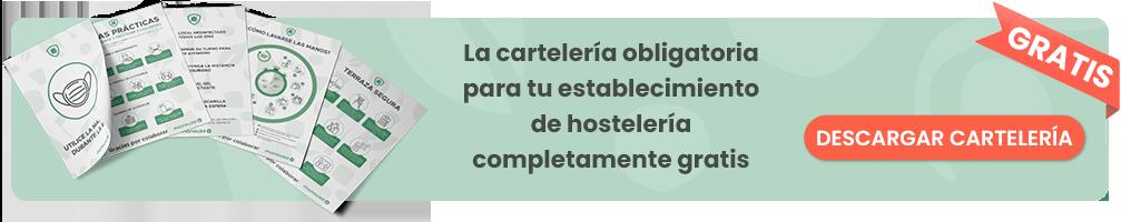 cartelería para hostelería