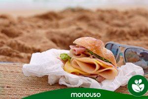 Las mejores comidas para llevar a la playa