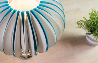 como-decorar-lamparas-con-platos-de-papel
