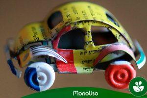 Cómo hacer juguetes con material reciclado