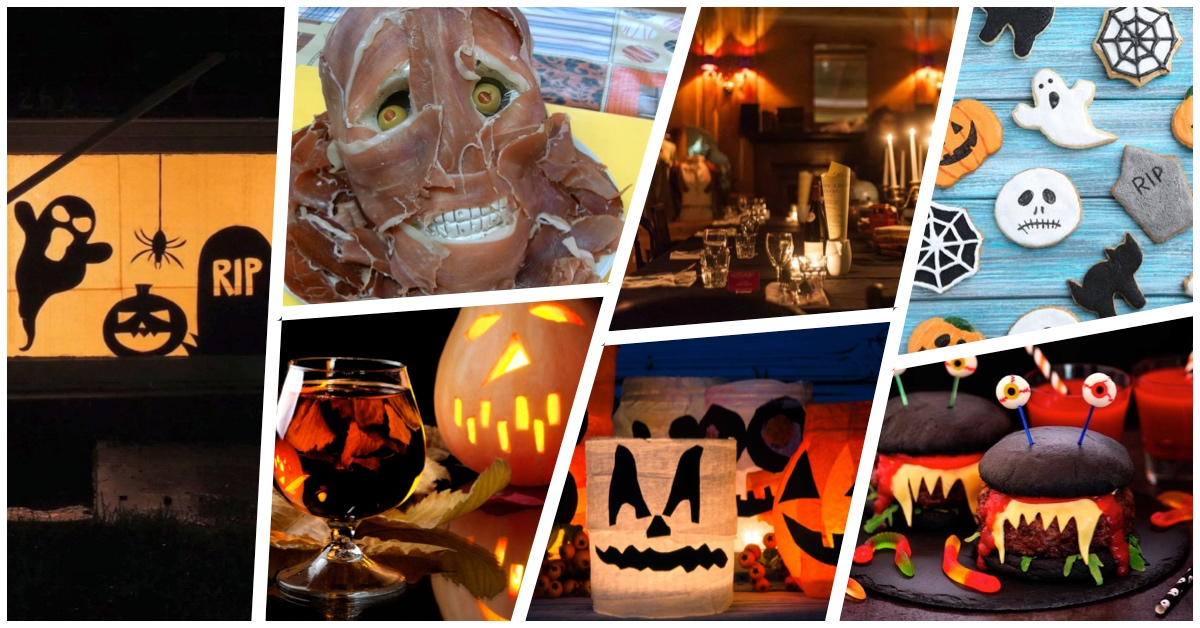 ideas para restaurantes en Halloween