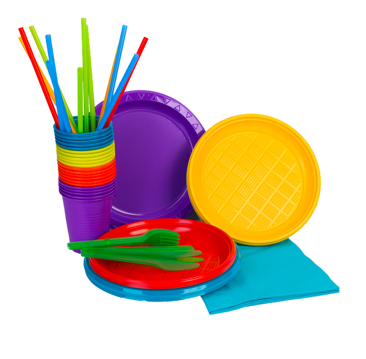 ideas pintar platos plásticos