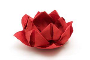 Servilletas de papel: trucos para plegados originales