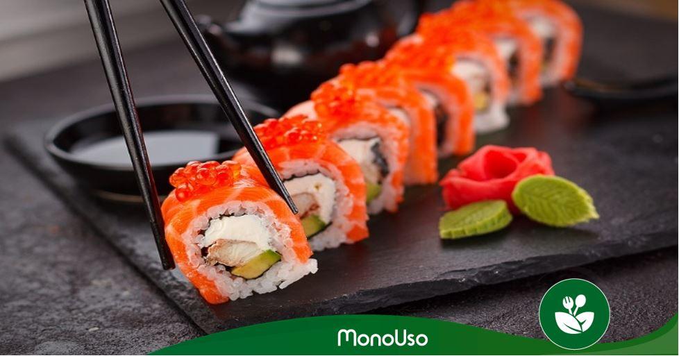 cómo hacer sushi vegetariano